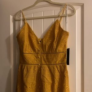 Lulus yellow dress